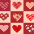 Abstract Romantic Background.Valentin e's day — 图库矢量图片
