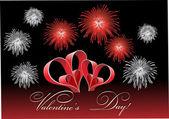 Valentine's Day Love. — Stock Vector