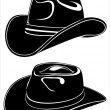 Stock Vector: Cowboy hat