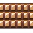 Stock Vector: Chocolate Background With