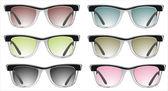 Glasses vector set. — Stock Vector