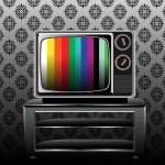 Retro and classic television — Stock Vector #25136439