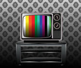 Retro and classic television — Stock Vector