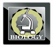 Biology icon — Stock Vector
