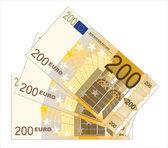 Heap of euro — Stock Vector