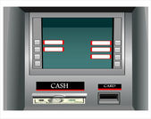 Cash machine — Stockvector