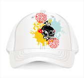 Baseball cap design template. — Stock Vector