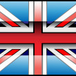 United Kingdom Flag — Stock Vector
