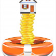 Protection of property — Imagen vectorial
