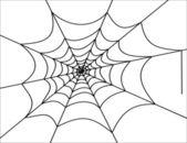 Illustration of cobweb — Stock Vector