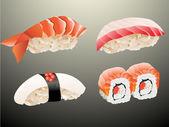 Sushi. — Vector de stock