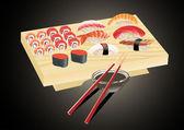 Sushi. — Stock Vector