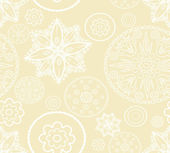 Seamless pattern from abstract flowers — Vector de stock