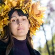Woman in autumn fashion — Stock Photo