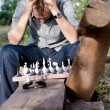 Chess player — Stock Photo #15486707