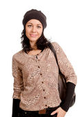 Attractive woman dressed for winter — Stock Photo