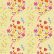 Royalty-Free Stock ベクターイメージ: Joyful and colorful pattern