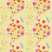 Joyful and colorful pattern — Stok Vektör
