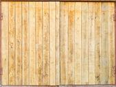Holztüren — Stockfoto