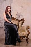 Gothic woman — Stock Photo