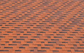 Background of red roof-tiles — Stock Photo