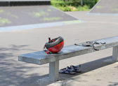 Equipo de seguridad para patinaje — Foto de Stock