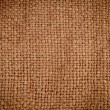 Background texture of burlap or hessian cloth — Stock Photo