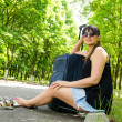 Woman going on summer vacation — Stock Photo #37965787