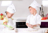 Arguments in the kitchen — Stock Photo
