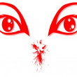 Royalty-Free Stock Vector Image: Red Eye