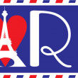 Постер, плакат: Love Paris