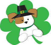 Irish Puppy — Vector de stock