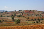 Wonderful landscape between Kalaw and Inle lake in Myanmar — Stock Photo