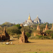 Ancient temples in Bagan, Myanmar — Foto de Stock
