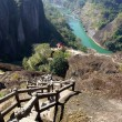 Canyon in Wuyishan Mountain, Fujian province, China — Photo