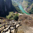 Canyon in Wuyishan Mountain, Fujian province, China — Stok fotoğraf