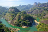 Canyon in Wuyishan Mountain, Fujian province, China — Foto Stock