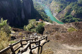 Canyon in Wuyishan Mountain, Fujian province, China — ストック写真