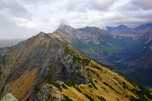 Landscape of Tatras mountain in Poland — Stock Photo