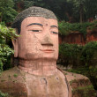 Stock Photo: Giant Buddhin Leshan, Sichuan, China