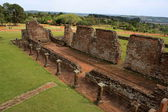 Jesuit mission Ruins in Trinidad, Paraguay — Stock Photo