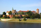 Wawel Castle on the Vistula river in Cracow (Krakow), Poland — Stock fotografie