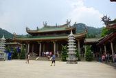 Buddhist Nanputuo temple in Xiamen, China — Stock Photo