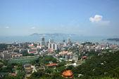 The scenery of Xiamen, modern city in China — Photo