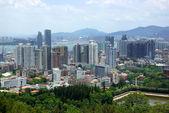 The scenery of Xiamen, modern city in China — Stock Photo