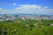 The scenery of Xiamen, modern city in China — Stock fotografie