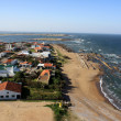 Stock Photo: Atlantic coastline, La Paloma, Uruguay