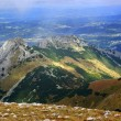 Stock Photo: Red Mountain Peaks, Tatras Mountains in Poland