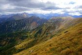 Red Mountain Peaks, Tatras Mountains in Poland — Stock Photo