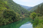 Canyon in Wuyishan Mountain, Fujian province, China — Stock Photo